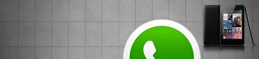 nexus 7 whatsapp